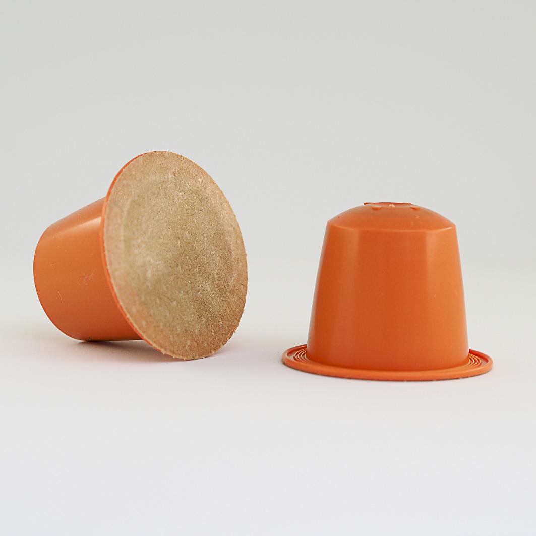 capsule thé vert bio litchi mangue biodegradable compatible nespresso