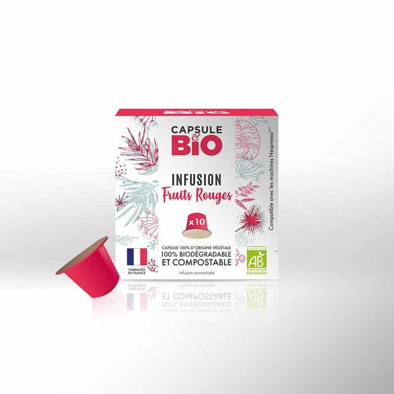 capsule infusion BIO fruits rouges