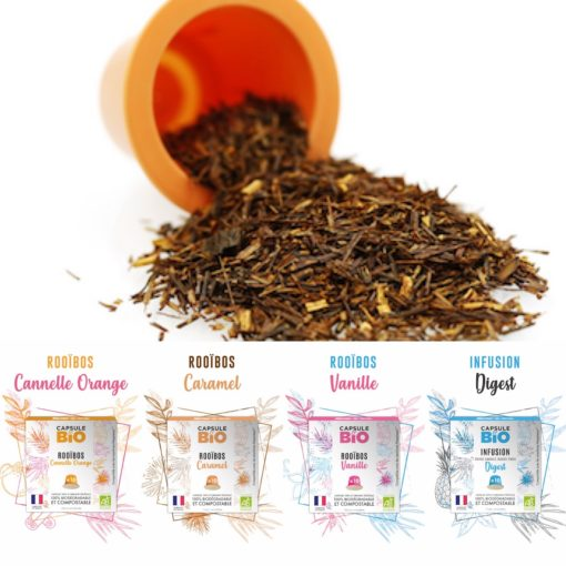 capsules infusion bien etre rooibos