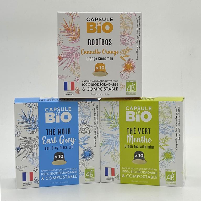 sélection de thés et d'infusions box Accueil Thé & Café