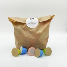 élection Capsulebio recharge top ventes capsules thés et capsules rooibos bio, emballage sachet papier, made in France