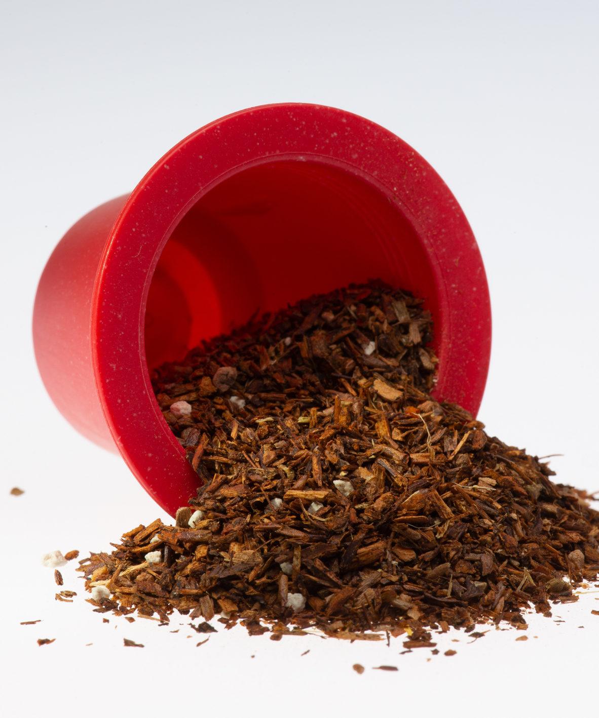 capsule infusion Chaï, 100% biodégradables et biocompostables, compatibles Nespresso®