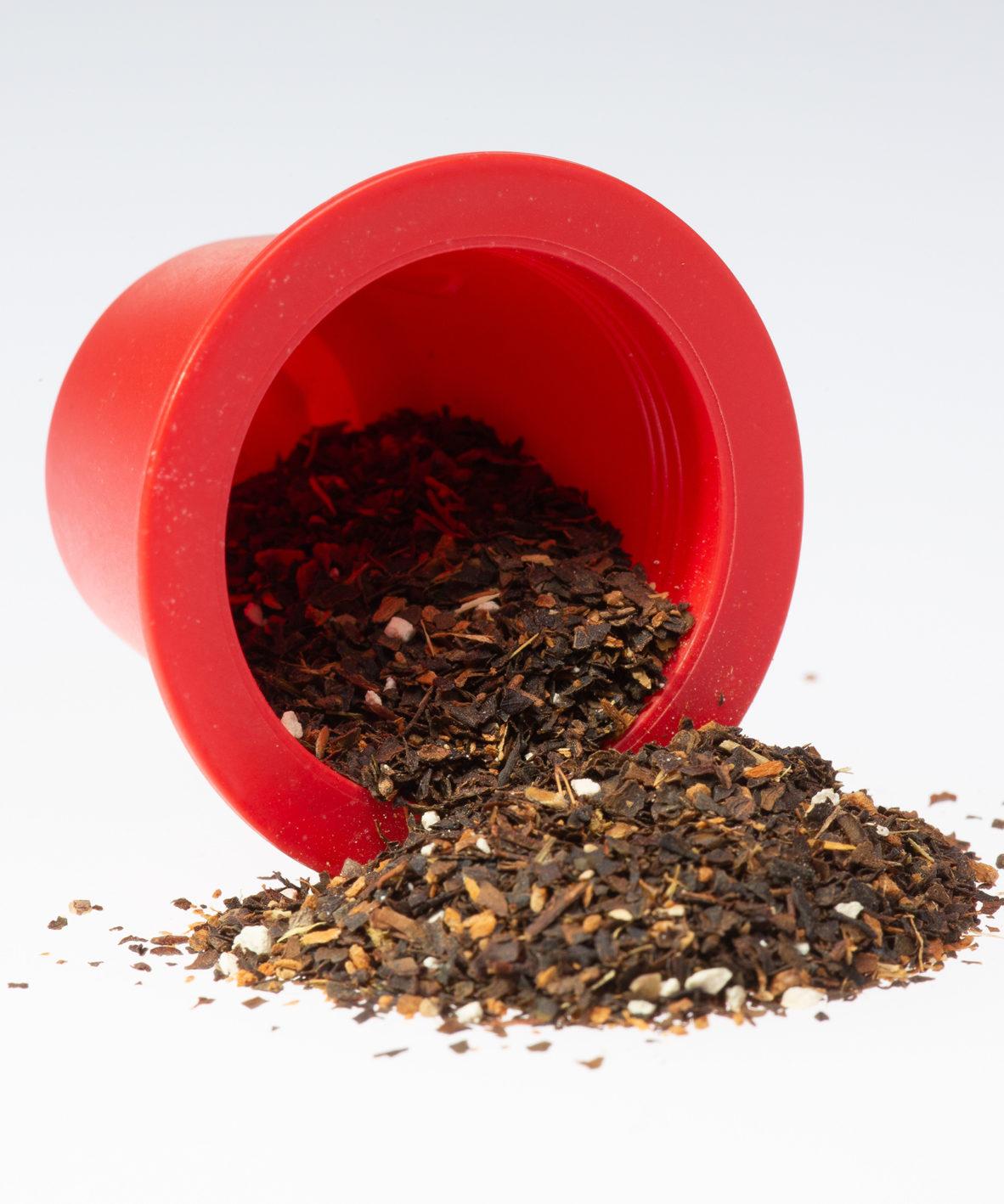 thé noir Chaï bio, capsule thé, 100% biodégradables et biocompostables, compatible Nespresso®