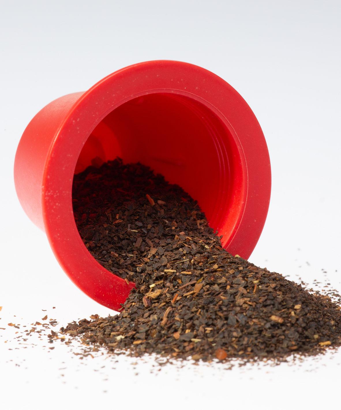 capsule Nespresso compatible thé vert bio litchi mangue