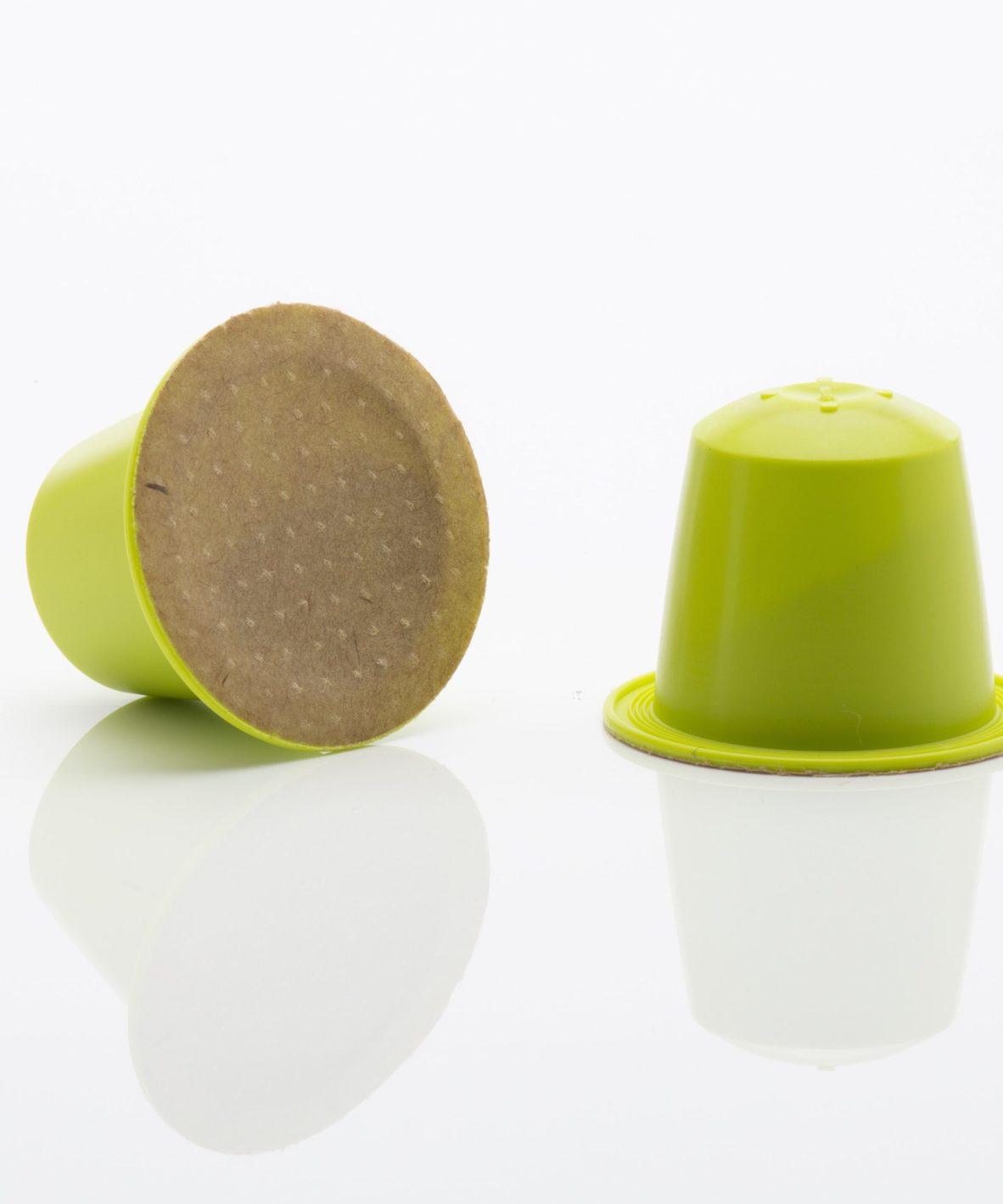 Maté thé vert et citron en capsule nespresso biodégradable Capsulebio