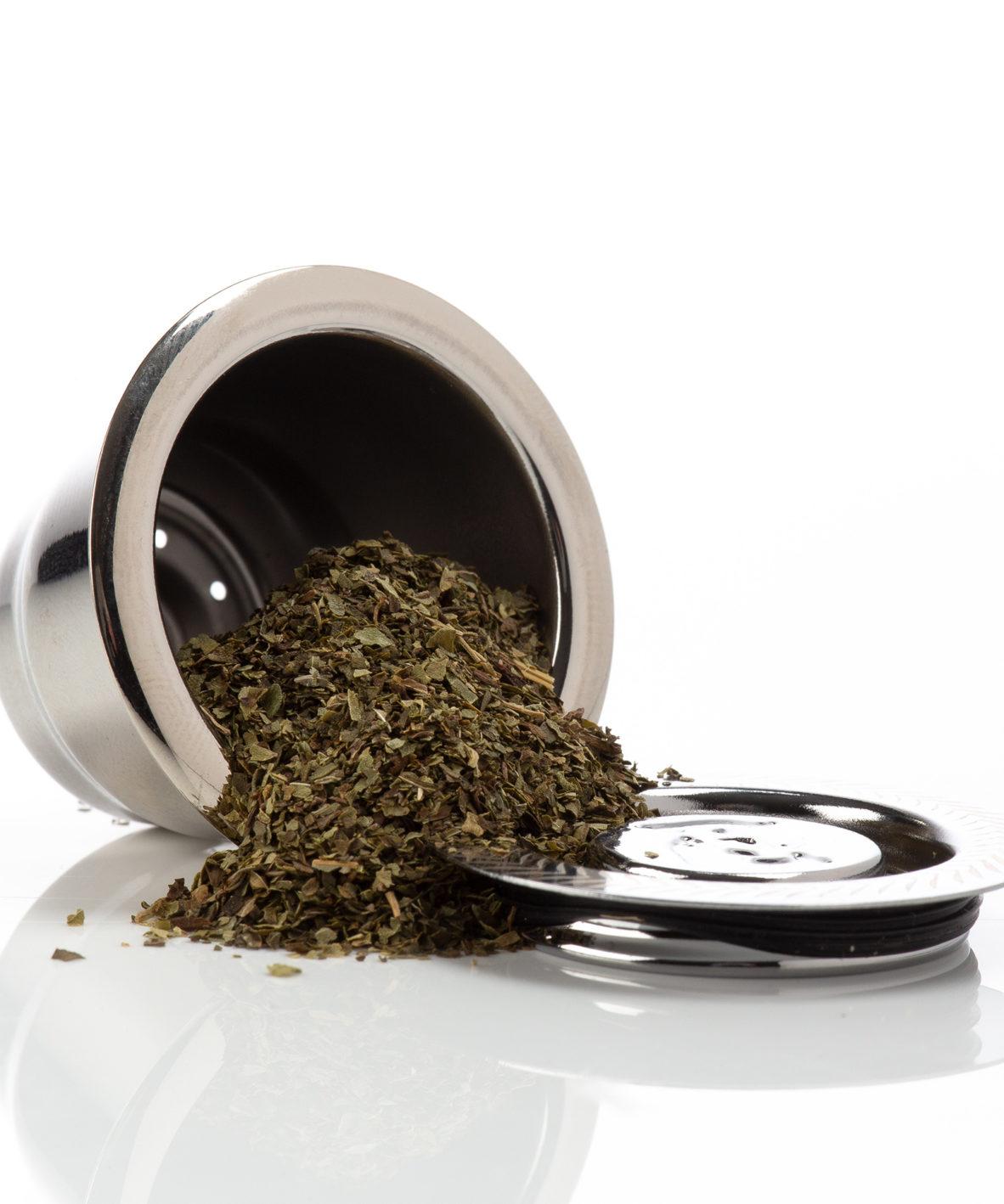 Capsulebio thé en vrac pour sélection capsule réutilisable : nespresso, capsule nespresso rechargeable, inox